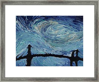 Color Of The Sky Part2 Framed Print