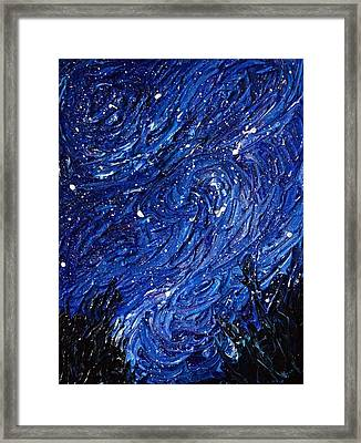Color Of The Sky Part3 Framed Print