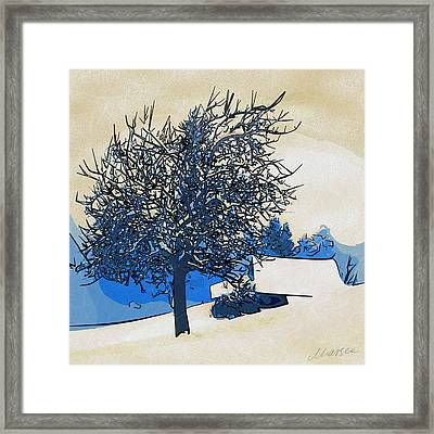 Color Of Winter Framed Print by Marina Likholat