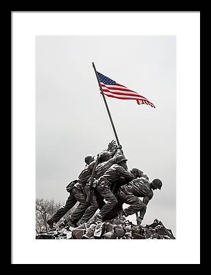 Usmc Framed Prints
