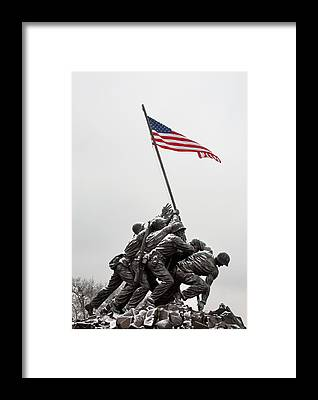 The American Flag Framed Prints