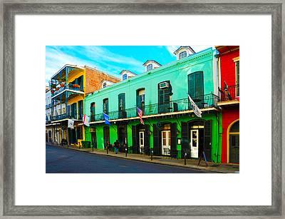 Color Perspective Framed Print