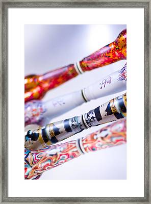Color Play Framed Print by Christian Tiboldi