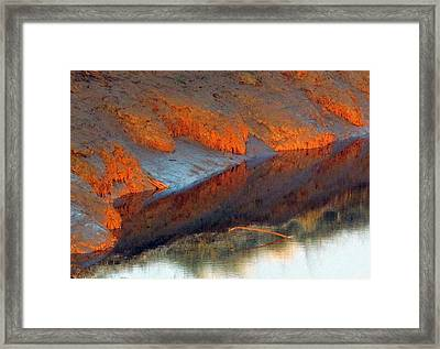 Color Play Framed Print