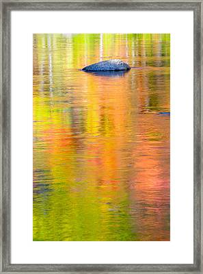 Color Reflections-1 Framed Print by Michael Hubley