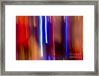 Color Rush 1 - Natalie Kinnear Photography Framed Print