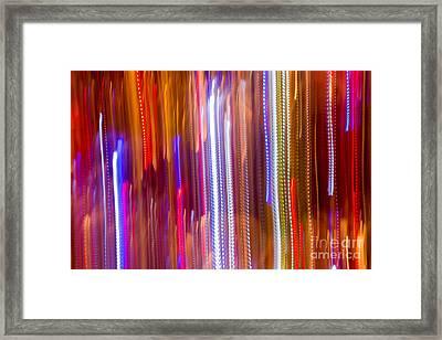 Color Rush 2 - Natalie Kinnear Photography Framed Print