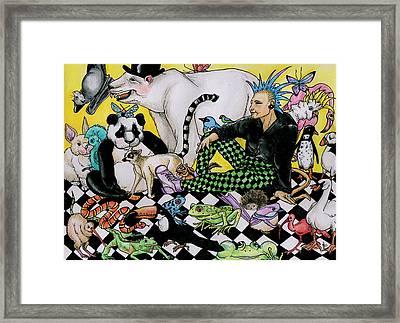 Color Scheme Framed Print