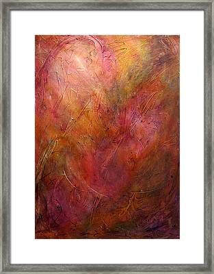 Color Shifts Framed Print