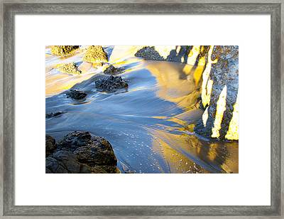 Color Surf Framed Print by Jim Snyder