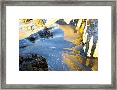 Color Surf Framed Print