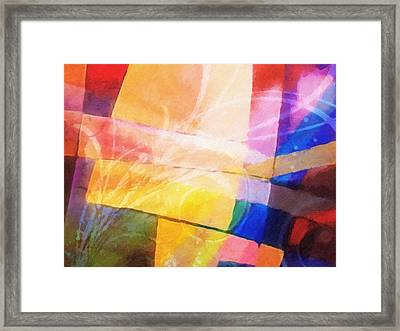 Color Symphony Framed Print by Lutz Baar