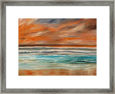 Color The Scene Framed Print by Lisa Aerts