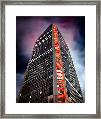 Color The Sky Framed Print by Brian Young