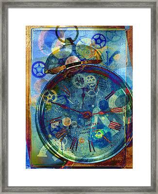 Color Time Framed Print