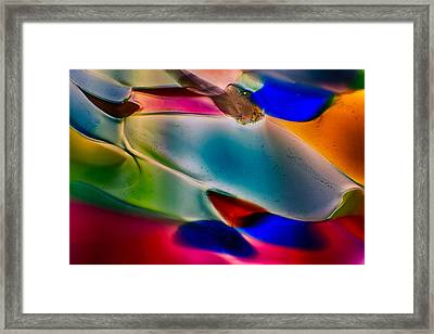 Color Wall Framed Print by Omaste Witkowski