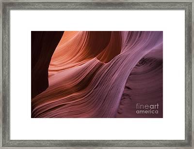 Color Wave Framed Print