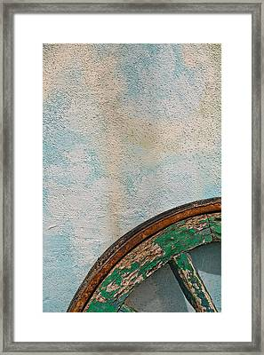 Color Wheel Framed Print by Peter Tellone