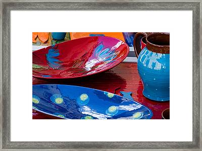 Color Your Life 4 Framed Print by Dany Lison