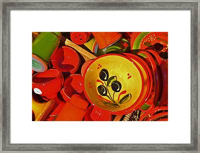 Color Your Life 5 Framed Print by Dany Lison
