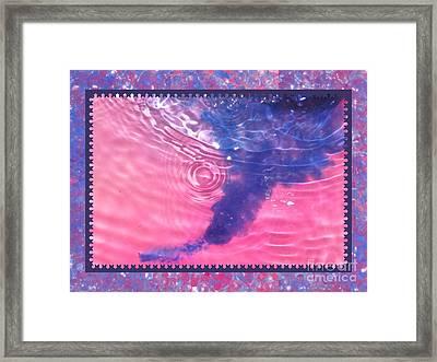 Color Your World Kids Bath Tornado Framed Print