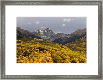 Colorado 14er Capitol Peak Framed Print