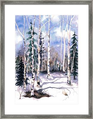 Colorado Aspens 2  Framed Print