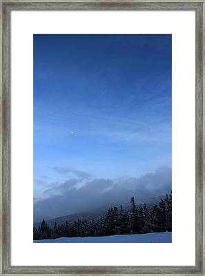 Colorado Blue 1 Framed Print by A K Dayton