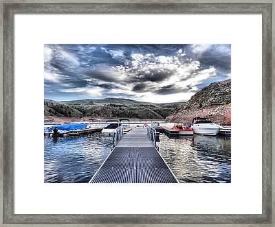 Colorado Boating Framed Print
