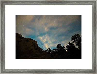 Colorado Canyon Star Gazing  Framed Print by James BO  Insogna