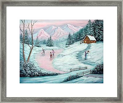Colorado Christmas Framed Print