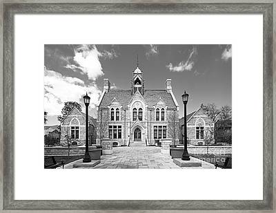 Colorado College Cutler Hall Framed Print by University Icons