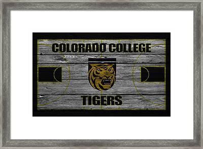 Colorado College Tigers Framed Print by Joe Hamilton