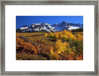 Colorado Country Framed Print by Darren  White