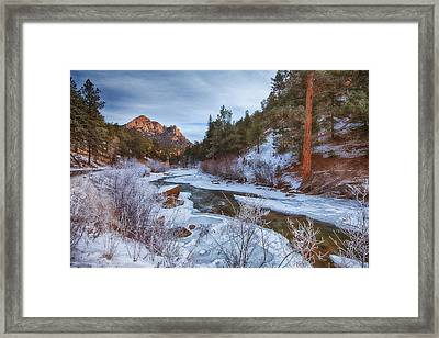 Colorado Creek Framed Print