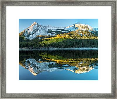 Colorado, East Beckwith Mountain Framed Print by Jaynes Gallery