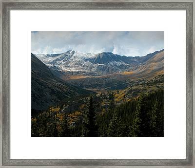 Colorado Glory Framed Print