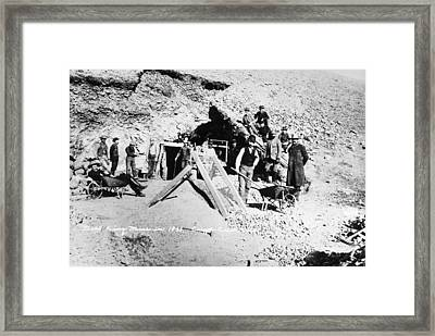 Colorado Gold Miners, 1893 Framed Print