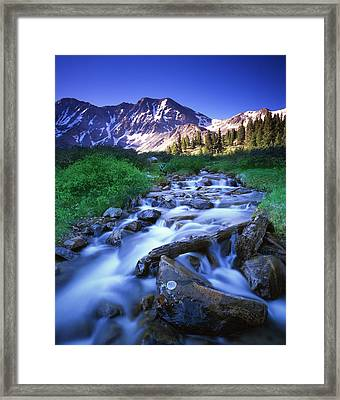 Colorado High Country Framed Print by Ray Mathis
