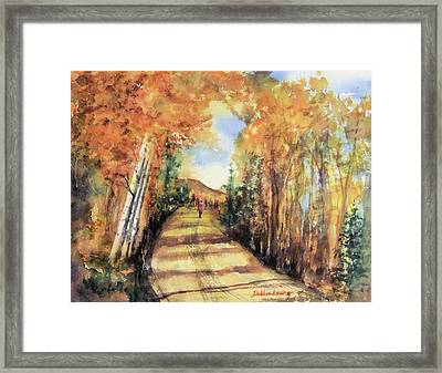 Colorado In September Framed Print