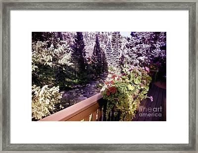 Colorado Landscape Framed Print by Madeline Ellis