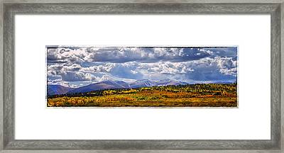 Colorado Landscape Framed Print
