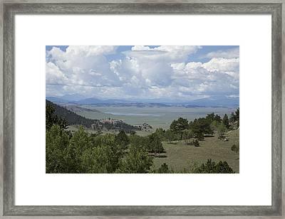Colorado Meadow Framed Print