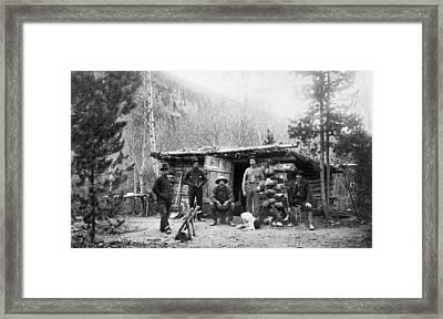 Colorado Miners Framed Print