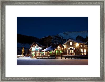 Colorado Mountain Life Framed Print by Michael J Bauer