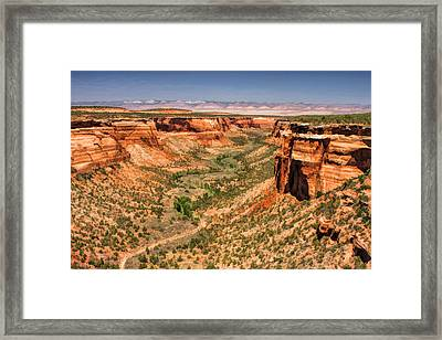 Colorado National Monument Ute Canyon Framed Print by Christopher Arndt