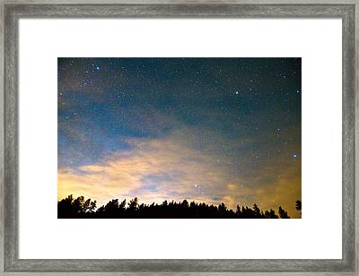Colorado Night Sky Framed Print by James BO  Insogna