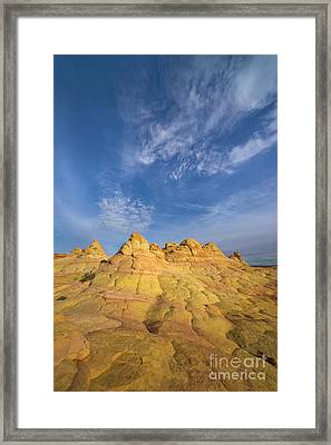 Colorado Plateau Coyote Buttes Arizona Framed Print by Yva Momatiuk and John Eastcott