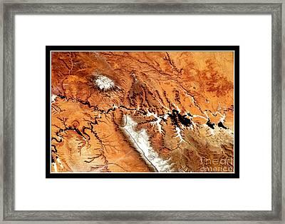 Colorado Plateau Nasa Framed Print