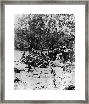 Colorado Railroad Wars Framed Print by Granger